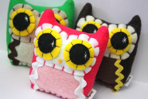 Little Owling - Eco-Friendly Felt Plush Owl