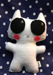 Minou Kitty - Eco-friendly Felt Plush Kitty