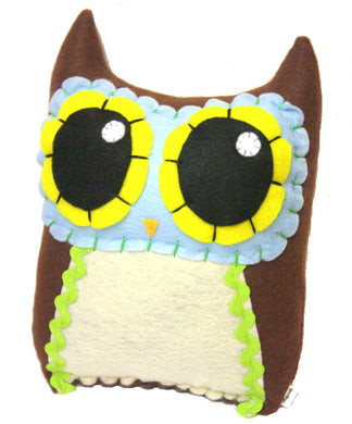 Owl Mama - Eco-friendly Felt Plush Owl