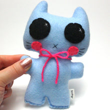 Load image into Gallery viewer, Minou Kitty - Eco-friendly Felt Plush Cat