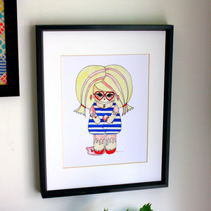 "Connie Likovsky Illustration Print - 8.5""x11"" or 5""x7"""