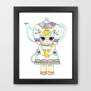 "Sophia Love Illustration Print - 8.5""x11"" or 5""x7"""