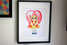 "Load image into Gallery viewer, Pepper O'Neill Illustration Print - 8.5""x11"" or 5""x7"""