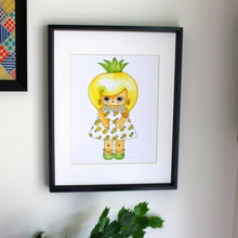 "Load image into Gallery viewer, Callie Tropica Illustration Print - 8.5""x11"" or 5""x7"""