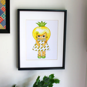 "Callie Tropica Illustration Print - 8.5""x11"" or 5""x7"""