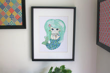 "Load image into Gallery viewer, Ebi Temaki Illustration Print - 8.5""x11"" or 5""x7"""