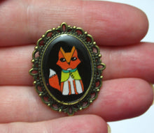Load image into Gallery viewer, Shy Fox Pin