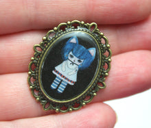 Load image into Gallery viewer, Kat Gato - Kitty Cat Girl Pin