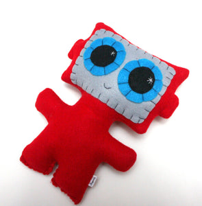 Needling Robot - Eco-friendly Felt Plush Robot