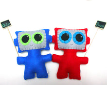 Load image into Gallery viewer, Needling Robot - Eco-friendly Felt Plush Robot