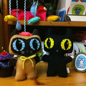 Custom Kitty - A Needlings Minou Kitty That Looks Like Your Own Furbaby