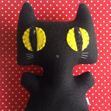 Load image into Gallery viewer, Big Minou Kitty - Eco-friendly Felt Plush Kitty