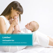 Laden Sie das Bild in den Galerie-Viewer, LinkDes® LockOne Wandhalterung inkl. 1x 500 ml LinkDes® Antiseptik-Gel