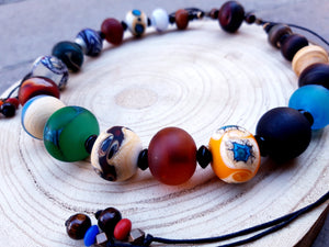 Africain Mat necklace