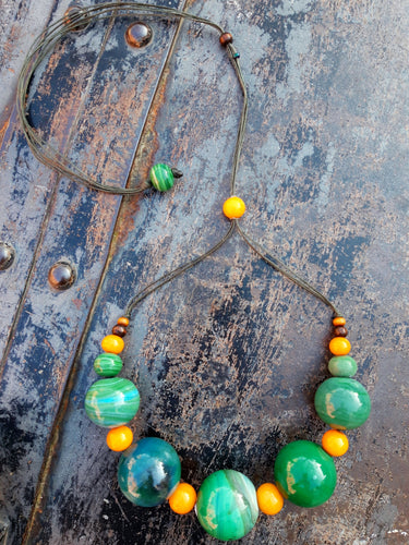 Menta&Oro necklace