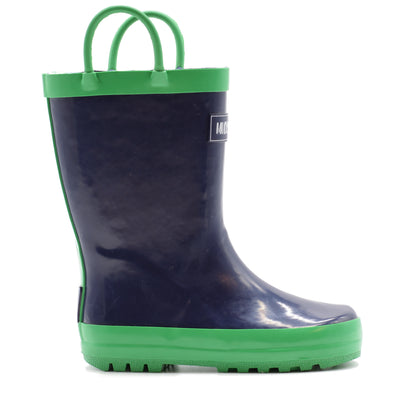 Loop Boot - Navy/Green