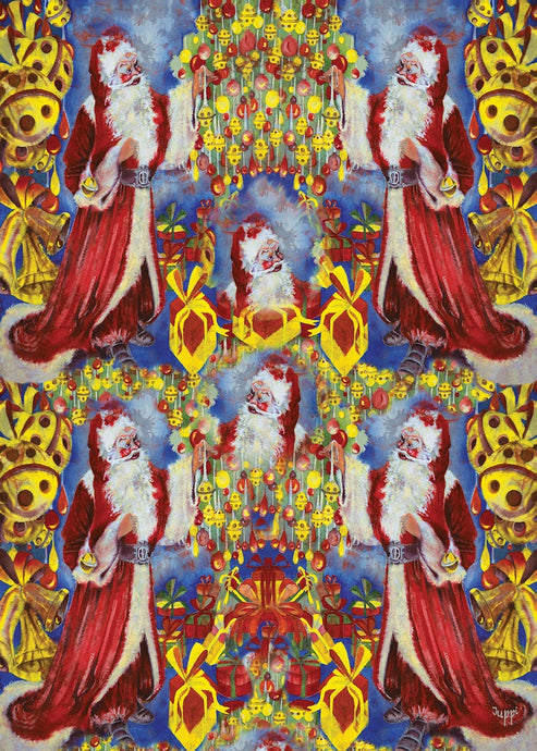 Wrapping Paper - Farther Christmas - WR_04