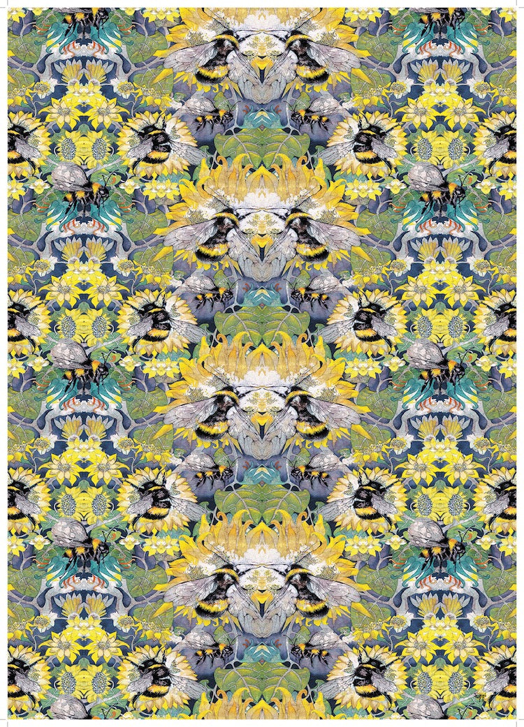 Wrapping Paper - Busy Bees - WR_05