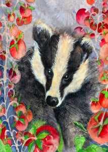 Poly Soft Touch Velvet - Boris the Badger 1 meter remaining - PS_07