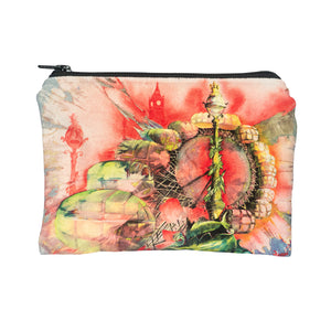 Velvet Clutch Bag - London Eye - CB-07LE