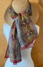 Long Voile Silk Scarf - LV_02