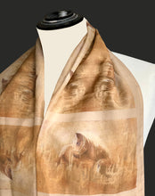 Long Voile Silk Scarf - LV_03
