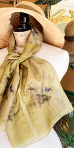 Long Voile Silk Scarf - LV_01