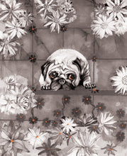 Dogs - Pug - Greeting Card - V_114