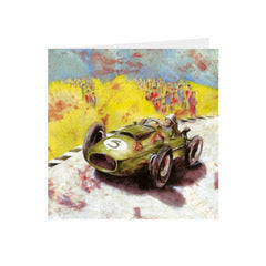 Sports - Racing Car - Greeting Card -S_39
