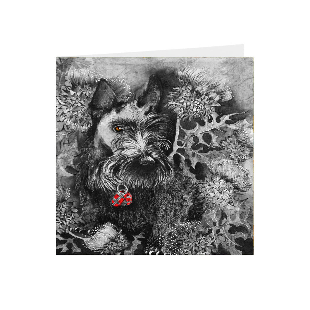 Dogs - Scottie Dog - Greeting Card - S_92
