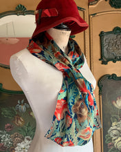 Long Satin Silk Scarf - SL_10
