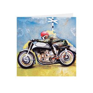 Motorbike - Norton - Racer 57 - Greeting Card -S_02