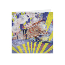 "Train - Locomotive - ""Broadway Limited"" Express - Greeting Card -S_04"