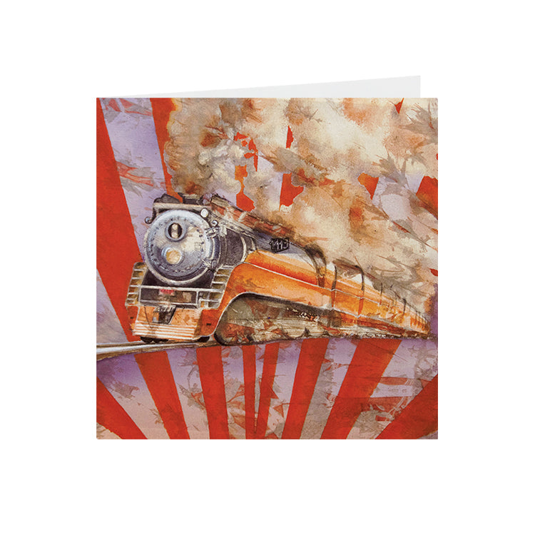 Train - Southern Pacific 4449 - Greeting Card - S_05