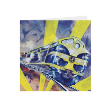Train- Locomotive - Spirit of Progress  - Greeting Card -S_06
