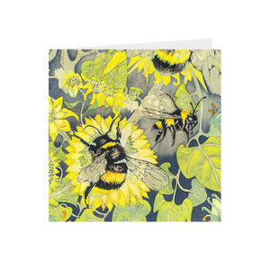 Bees in Wonderland - Busy Bees - Greeting Card - S_09