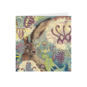 Hares in Wonderland - Thistle & Hare - Greeting Card - S_23