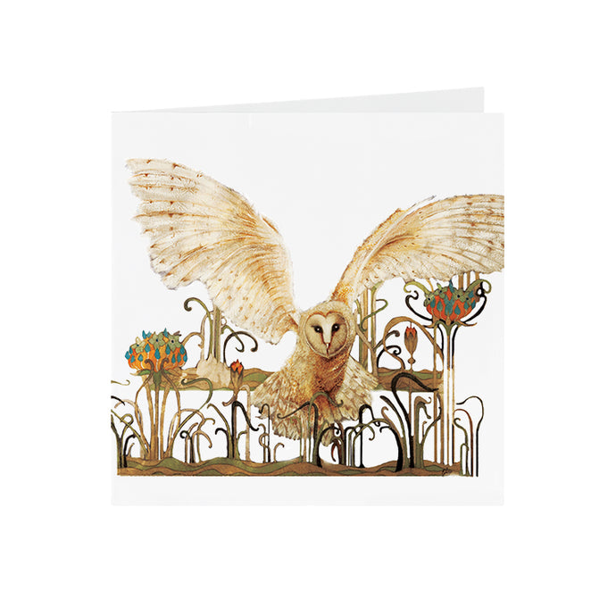 Owls in Wonderland - Barn Owl - S_32