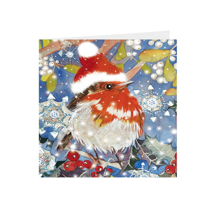 Christmas - Christmas Robin - Greeting Card - S_37