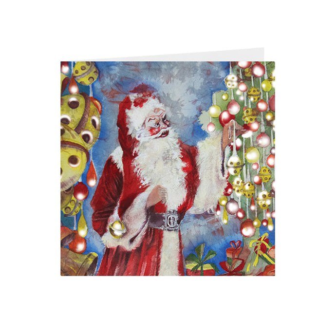 Christmas - Santa - Greeting Card - S_38
