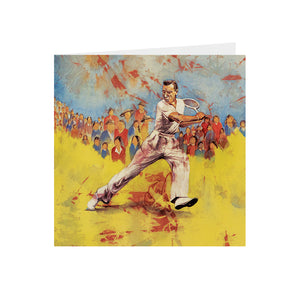 Sports -Tennis Player - Greeting Card - S_40
