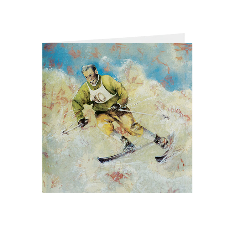 Sports - Skier - Greeting Card -S_44
