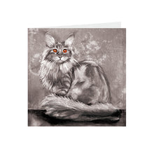 Cats - Orange eyed - Greeting Card - S_46