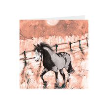 Horse -  Piebald  - Greeting Card - S_51