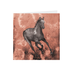Horse - Chestnut - Greeting Card - S_52