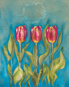 Tulips - Greeting Card - V_106