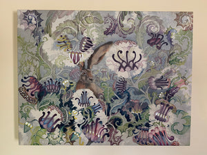Canvas - Thistle Hare