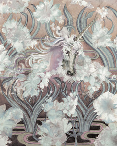 Fantasy - Unicorn Clouds - Greeting Cards - V_111