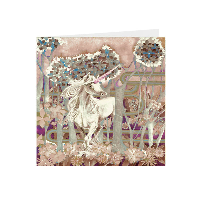 Fantasy - Unicorn - Greeting Card - S_91