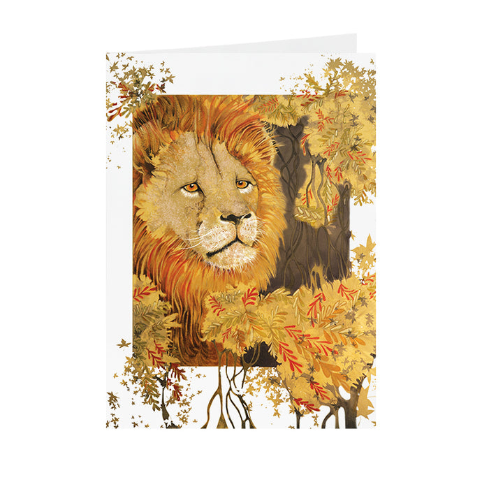 Lion - Greeting Card - V_09
